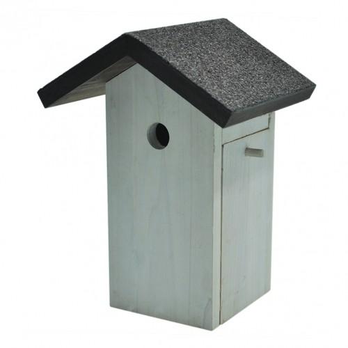 EXTERIEUR - Oiseaux des jardins - Nichoir pour mésange bleue pour oiseaux