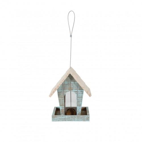 EXTERIEUR - Oiseaux des jardins - Mangeoire en bois Caribou - Small pour oiseaux