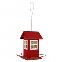 Mangeoire oiseaux des jardins - Mangeoire Maison 4 fenêtres Zolux