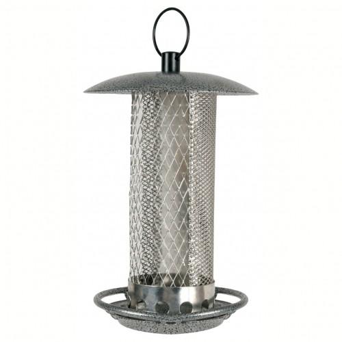 distributeur steelo mixte mangeoire pour oiseaux des jardins zolux wanimo. Black Bedroom Furniture Sets. Home Design Ideas