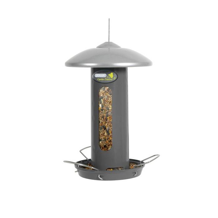 Mangeoire solo design mangeoire pour oiseaux des jardins - Oiseaux metal pour jardin ...