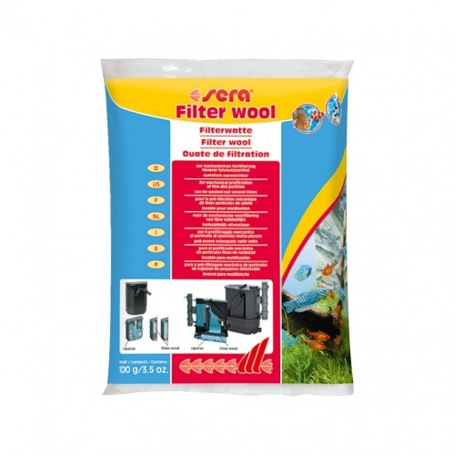 Filtration et aération - Ouate de filtration pour poissons