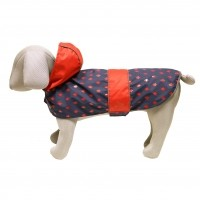 Manteau pour chien - Imper Luxury Navy Forest Rosewood