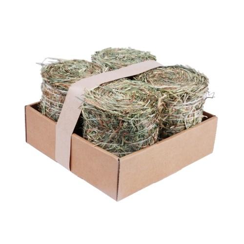 Foin pour rongeur - Pack 4 meules de foin pour rongeurs