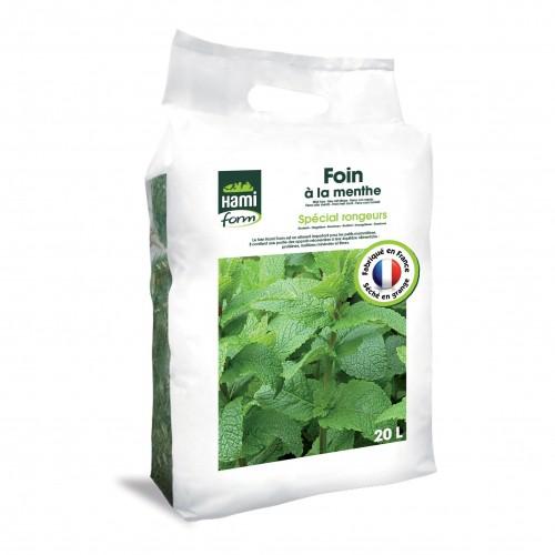 Foin pour rongeur - Foin Premium à la menthe pour rongeurs