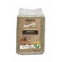 Foin pour lapin et rongeur - Foin Naturaliss aux Pissenlits Cunipic