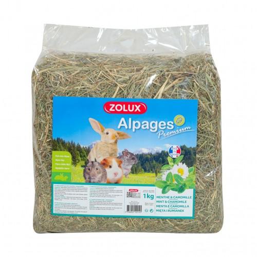 Foin pour rongeur - Foin Alpages Prenium Aromatisé pour rongeurs
