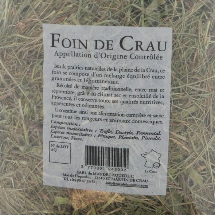 Foin pour rongeur - Foin de Crau pour rongeurs