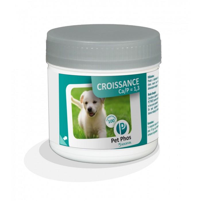 Friandise & complément - Pet-Phos Croissance CA/P=1,3 pour chiens