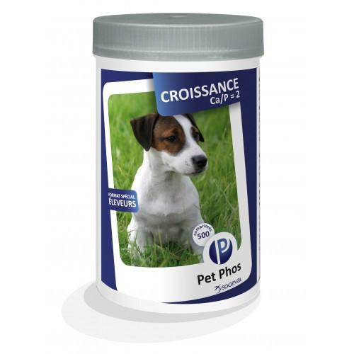 Friandise & complément - Pet-Phos Croissance CA/P=2 pour chiens