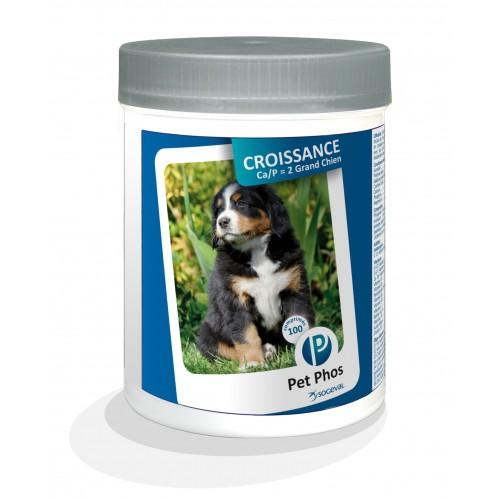 Complément minéral et vitaminé - Pet-Phos Croissance Grands Chiens Ceva