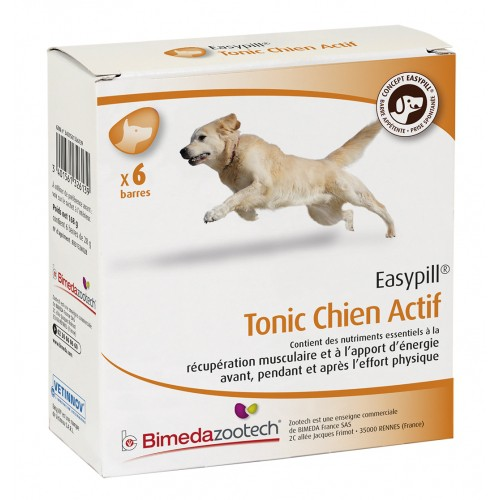 Friandise & complément - Easypill Tonic Chien Actif pour chiens