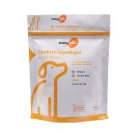 Aliment complémentaire diététique pour chien - Easypill Insuffisance Hépatique Chien Bimeda-Zootech
