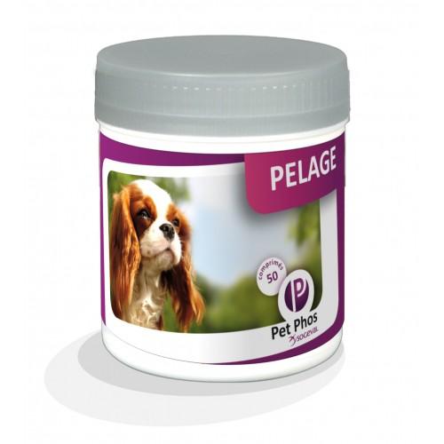 Complément minéral et vitaminé - Pet-Phos spécial pelage Ceva