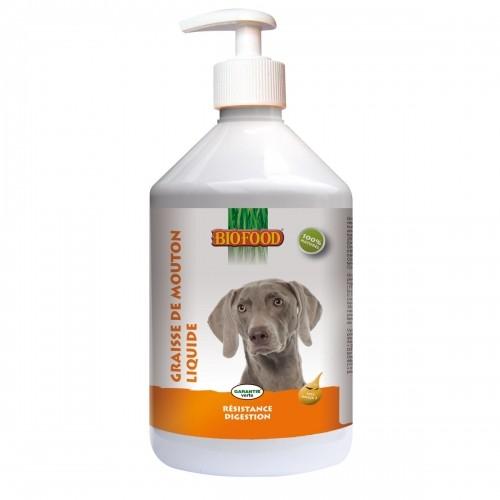 Friandise & complément - Graisse de mouton liquide pour chiens