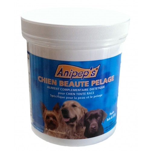 Aliment complémentaire pour chien - Chien Beauté du pelage Anipep's