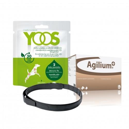 Friandise & complément - Pack Agilium + et Collier Yoos pour le confort articulaire pour chiens