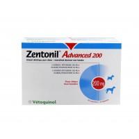 Complément fonction hépatique pour chien -  Zentonil Advanced Vetoquinol