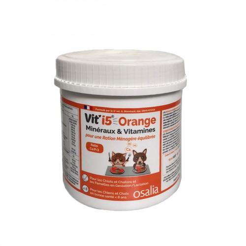 Friandise & complément - Orange - Chiot/Chaton et Adulte < 8 ans pour chats