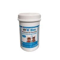 Complément minéral et vitaminé - Bleu - Chien et Chat Senior Vit'i5