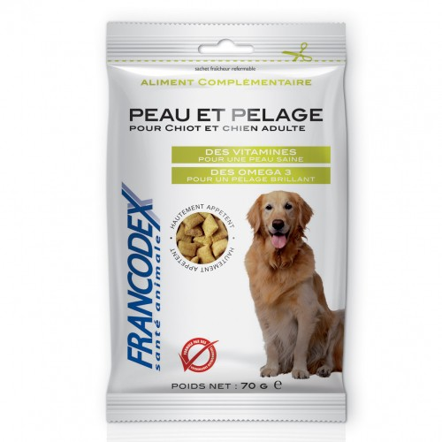 Friandise & complément - Friandises Peau et pelage pour chiens