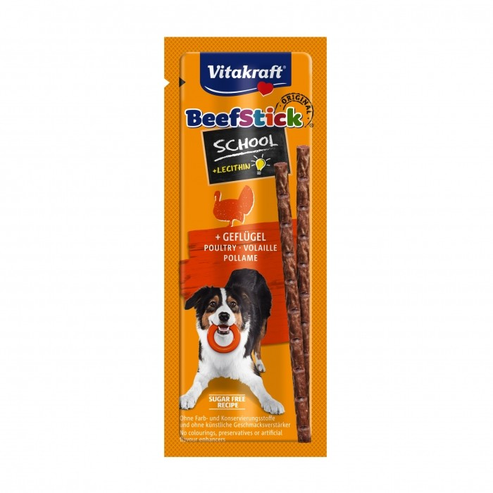 Friandise & complément - Beef-Stick School pour chiens
