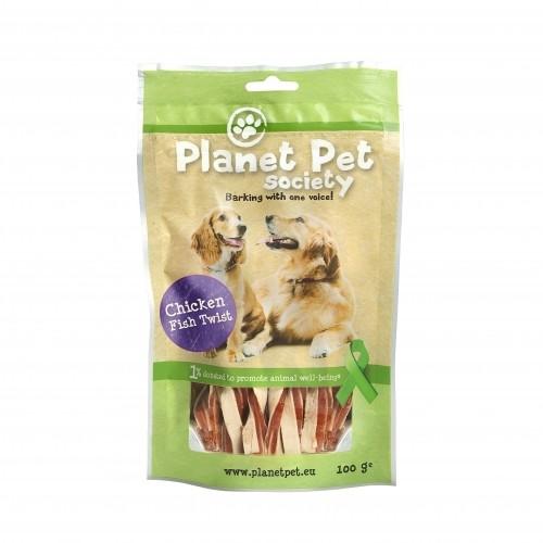 Friandise & complément - Torsades Poulet et Poisson pour chiens
