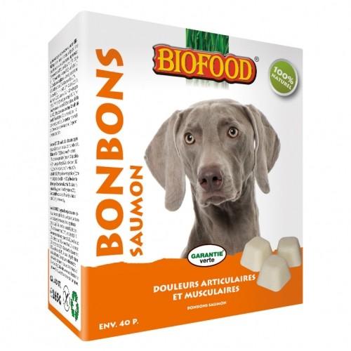 Friandise & complément - Bonbons au saumon pour chiens