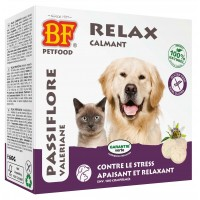 Friandises pour chien et chat - Relax, comprimés calmants et apaisants pour chien et chat Biofood