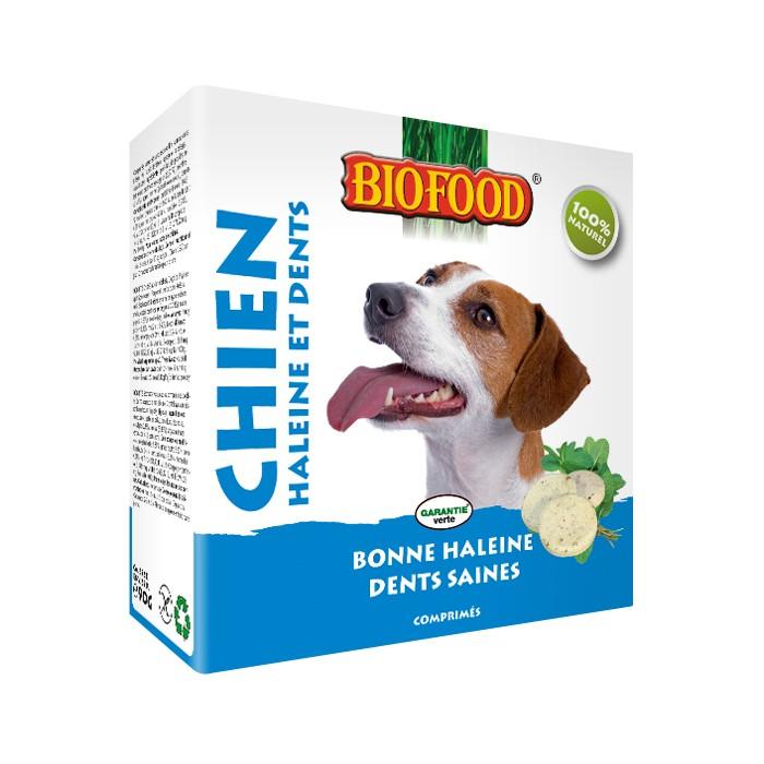 Friandise & complément - Haleine et dents, pour la bonne haleine et des dents saines pour chiens