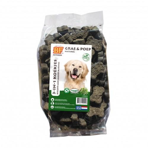 Friandise & complément - Biscuits 3-en-1 pour chiens