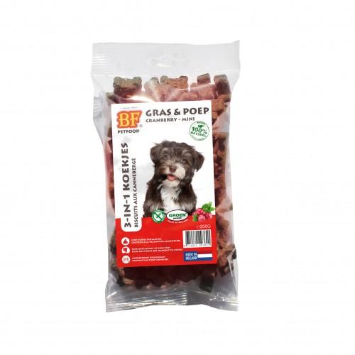 Friandise & complément - Biscuits naturels aux cranberries pour chiens