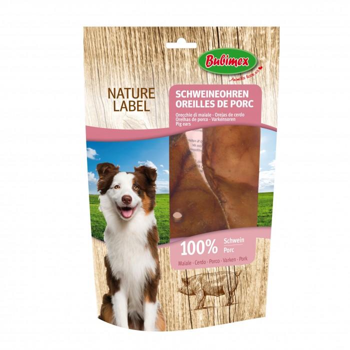 Friandise & complément - Oreilles de porc Nature Label  pour chiens
