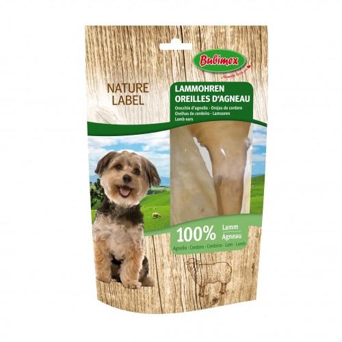 Friandise & complément - Oreilles d'agneau Nature Label  pour chiens
