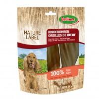Friandises pour chien - Oreilles de boeuf Nature Label  Bubimex