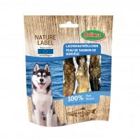 Friandises pour chien - Nature Label Peau de saumon de Norvège Bubimex