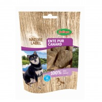 Friandises pour chien - Nature Label Canard Lyophilisé Bubimex