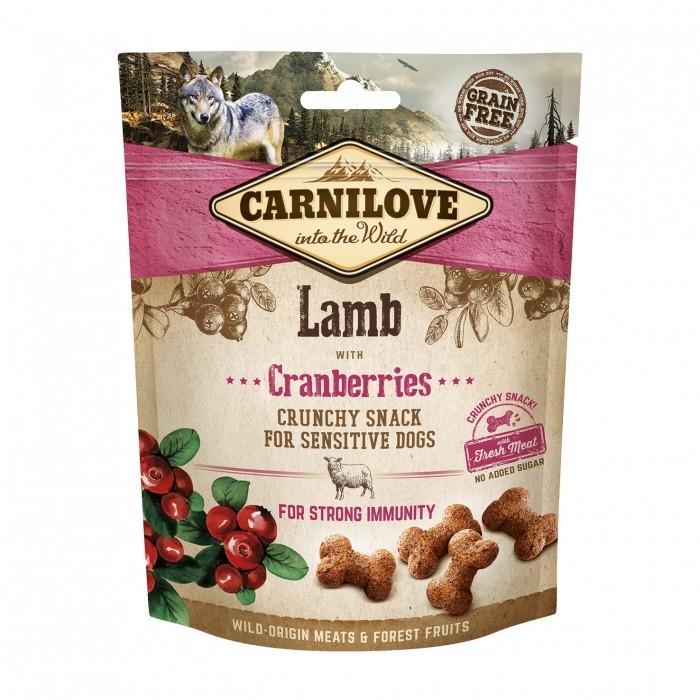 Sélection Noël - Crunchy Snack - Agneau et cranberries pour chiens
