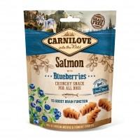 Friandises pour chien - Crunch Snack - Saumon et myrtilles Carnilove