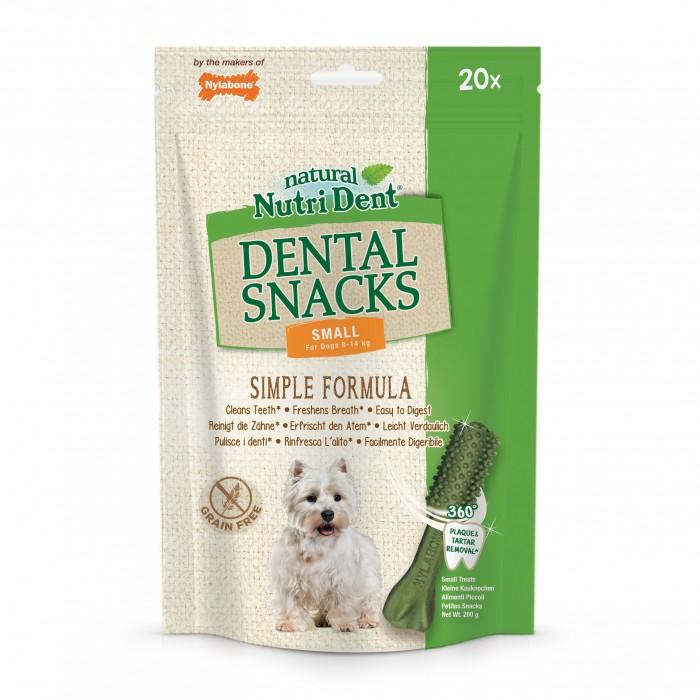 Friandise & complément - Nutri Dent Dental Snacks sans céréales pour chien pour chiens