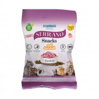 Friandises pour chat - Snacks Sans Gluten Anti-boules de poils pour chat Serrano