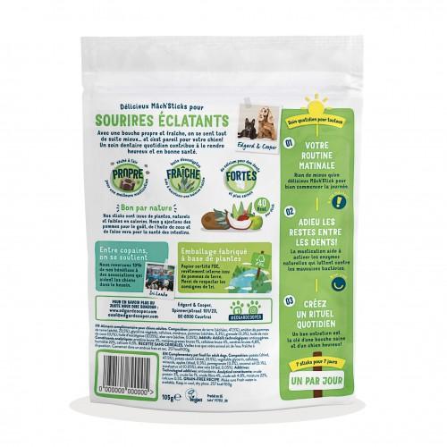 Friandise & complément - Friandises MACH'STICKS Dental - Pomme/Eucalyptus pour chiens