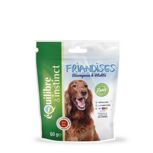 Friandise & complément - Friandises récompense & vitalité au poulet pour chiens