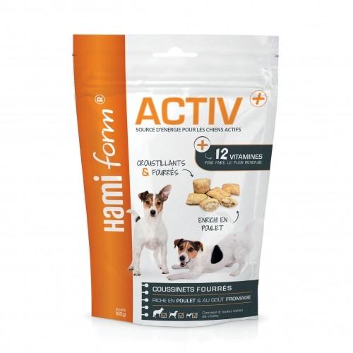 Friandise & complément - Coussinets fourrés Activ+ pour chiens