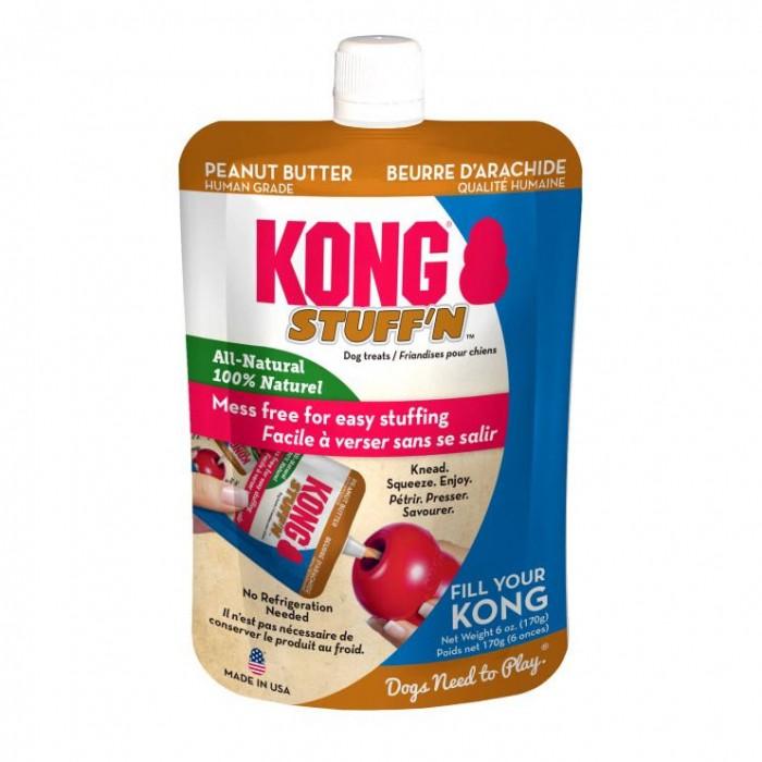 Friandise & complément - Pâte appétente Stuff'n All-Natural KONG pour chiens
