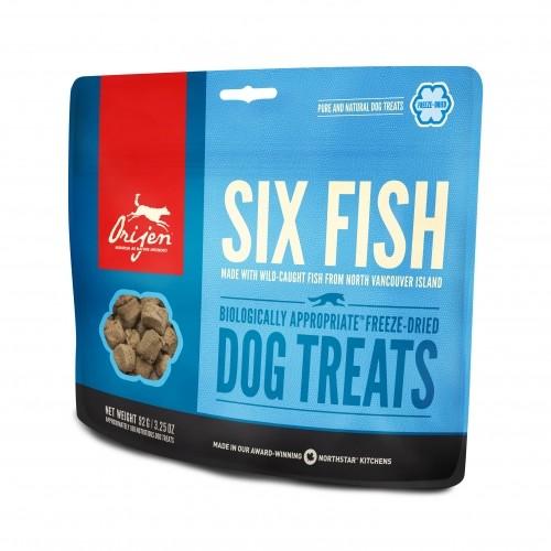 Friandise & complément - 6 Fish Treats pour chiens