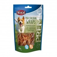 Friandises pour chien - Premio Fish Chicken Wraps Trixie