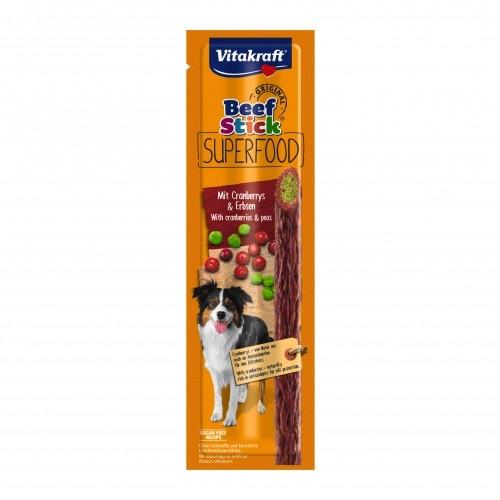 Friandise & complément - Beef Stick Superfood pour chiens