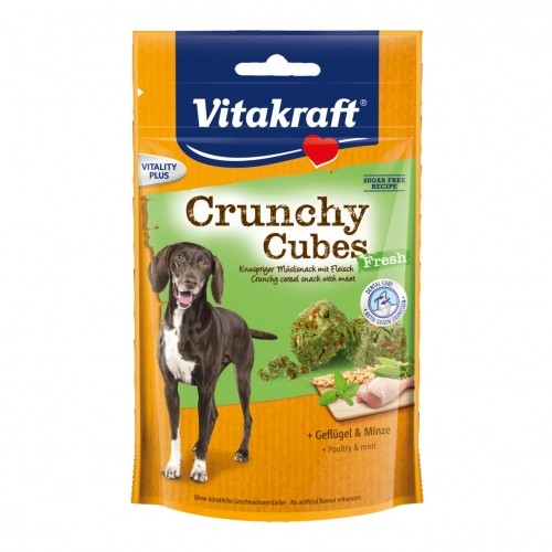 Friandise & complément - Crunchy Cubes Fresh  pour chiens
