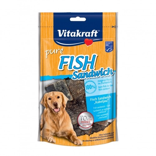 Friandises pour chien - Fish sandwich Vitakraft